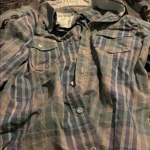 A guess kid\boy button up shirt